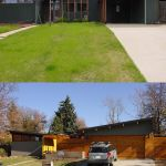 before and after garage remodel
