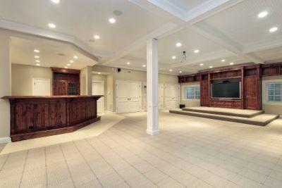 centennial finished basement