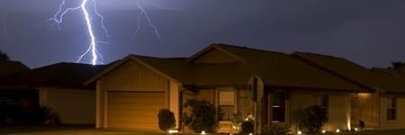 lightning damage repairs